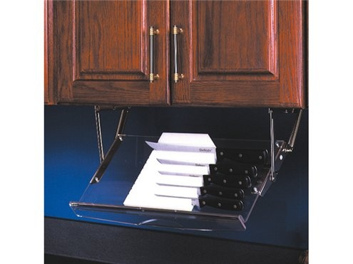 Under Cabinet Drop Down Knife Storage Plans Diy Free