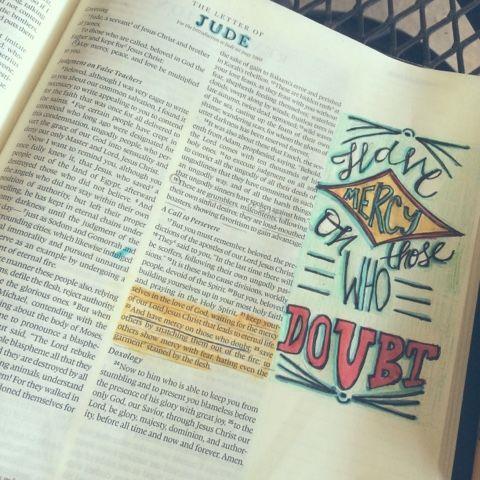 Free Little Bird Studio: Illustrating Jude bible journaling illustrated faith
