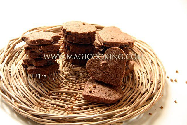 Гречневое печенье с изюмом