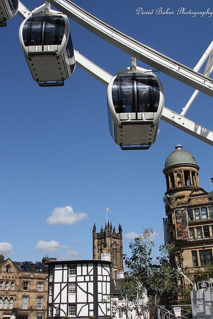 Ferris Wheel - Manchester, England