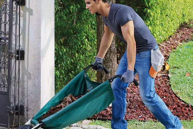 Садовая тележка WheelEasy. Лайфхакерская тележка для сада: занимает мало места, благодаря использованию материала очень легкая.