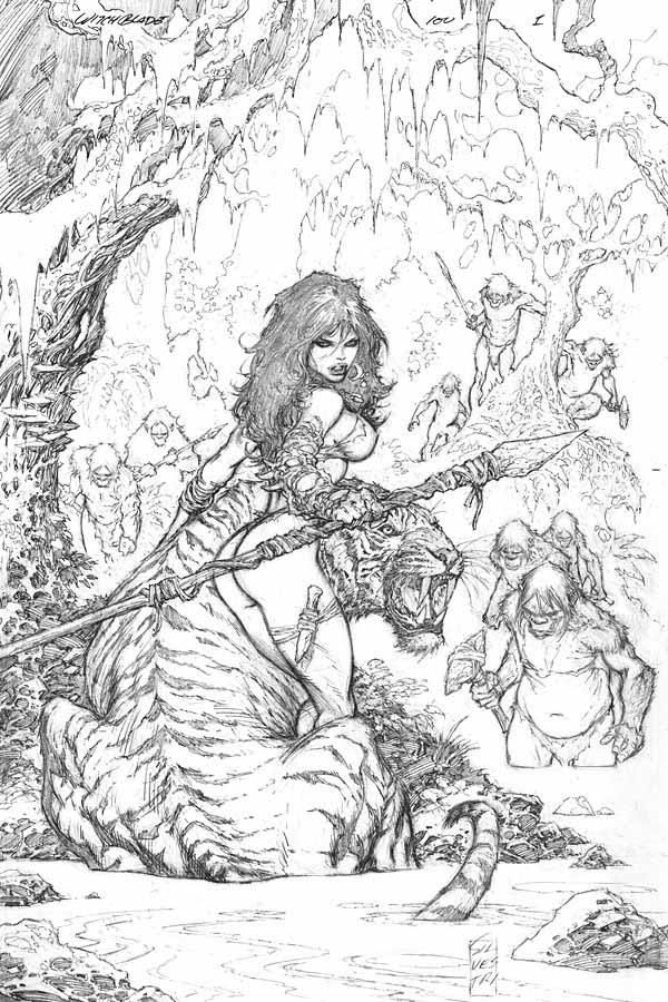 Marc Silvestri is just so damned good... - Comic Art by Marc Silvestri