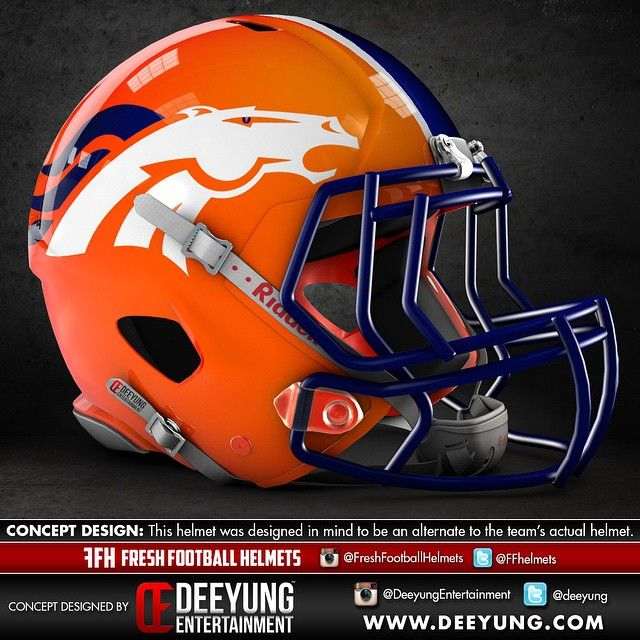 NFL Football Helmet Concept Designs