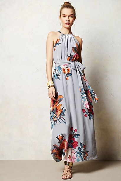 Bouquet Maxi Dress #anthropologie