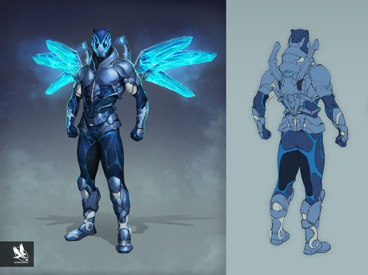 ArtStation - Injustice 2- Characters, Atomhawk Design