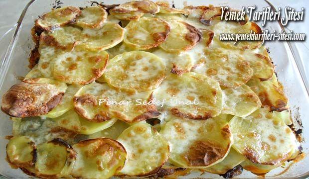 Tavuklu Patates Lazanya Tarifi