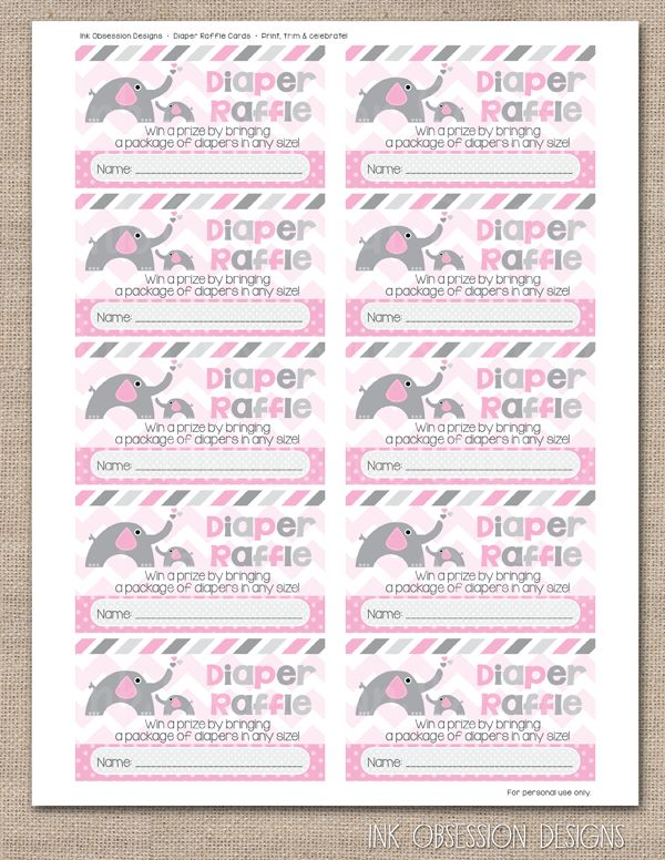 157 best Ink Obsession Printables images on Pinterest Wedding - printable raffle ticket template free