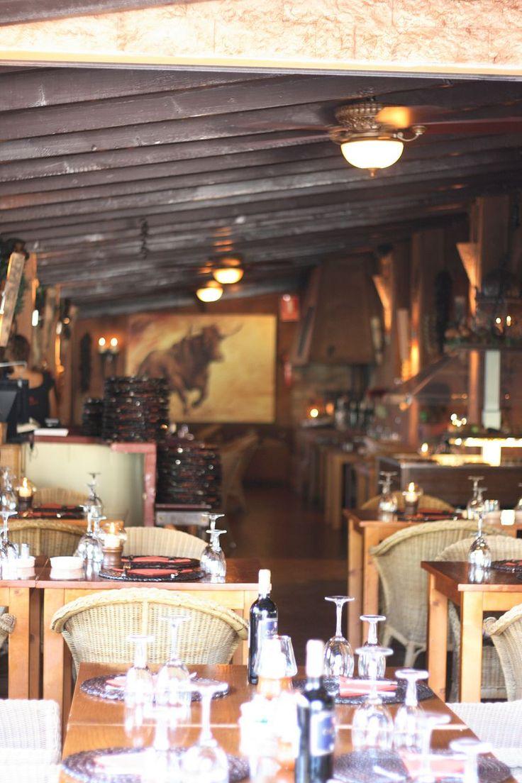 Steakhouse La Hacienda, Paguera, Mallorca, Deckenventilatoren Ventana geliefert von Casa Bruno