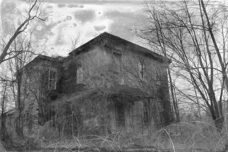 Abandoned Rural American Photography Vintage Film Old Abandoned Farmhouse Photograph