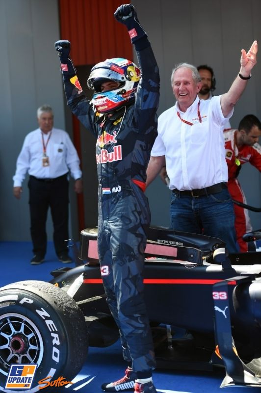 ♥ Max Verstappen, Red Bull, Formule 1 Grand Prix van Spanje 2016
