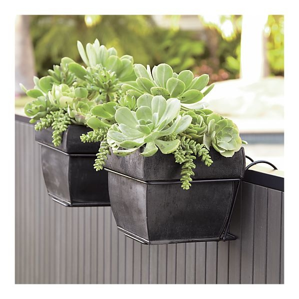 Planters For Railings Hooks: 10 Best Images About FRONT OF HOUSE On Pinterest