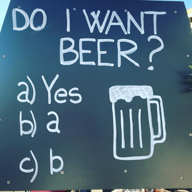 The answer is always yes. #craftbeer #beer #ClermontBrewingCompany