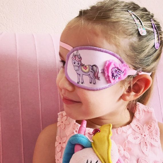 Handmade eye patch for children от MalinkaArt на Etsy