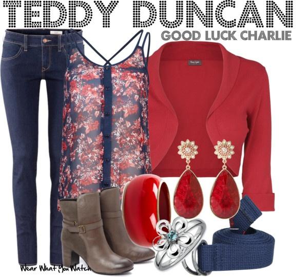 Inspired by Bridgit Mendler as Teddy Duncan from Good Luck Charlie. @Amanda Knight