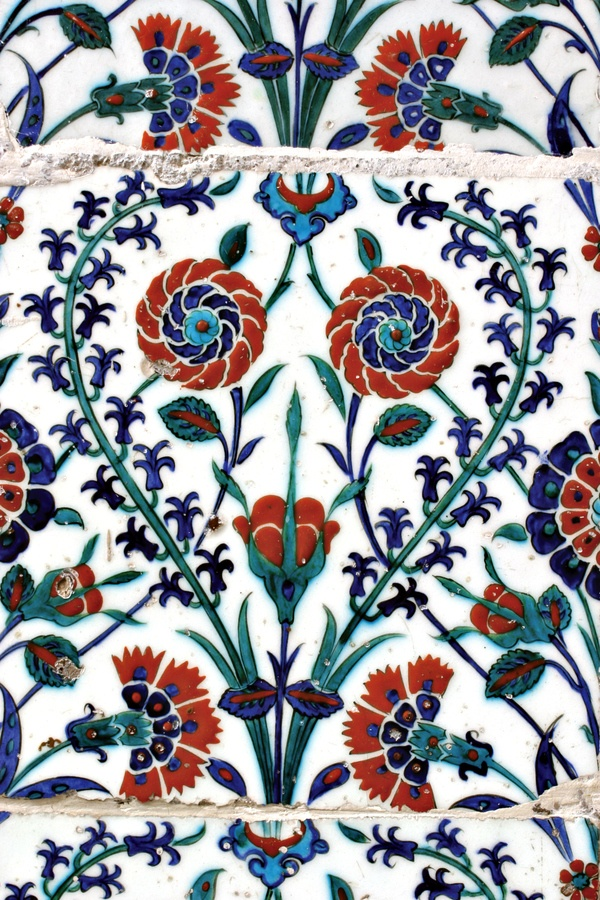 Turkish tile, Eyup Sultan Mosque by Ihsan Gercelman, via 500px