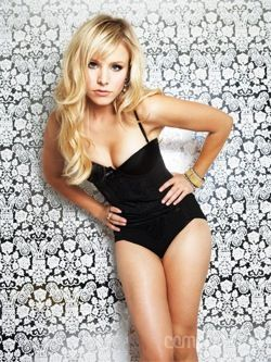 I love Kristen Bell but I also love her color blonde and this hairstyle; maybe my next cut. This is also my motivation for getting into better shape!