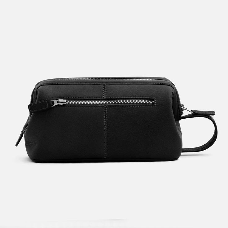 Vincent Dopp Kit - Full grain Leather - Black