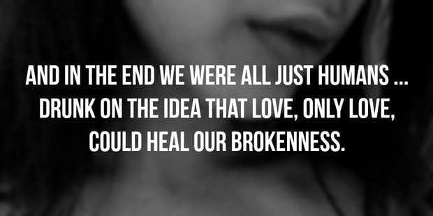 Heartbreak is normal to feel, losing yourself is not.