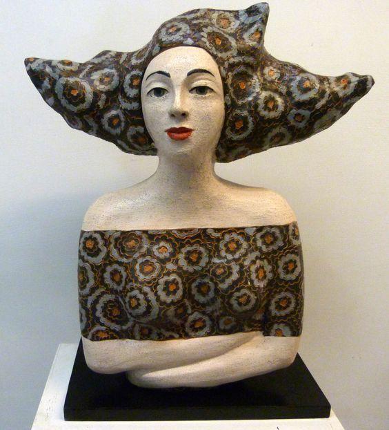 Speranza Neri sculture in ceramica tecnica costruzione a colombini #sculture in ceramica #ceramica #scultura #arte #argilla #arredamento #sculpture #artists #ceramicaartistica #colombini