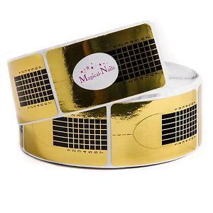 Goldschablonen 1000 Stück zur Nagelverlängerung Anja Beck, Magical-Nails | eBay