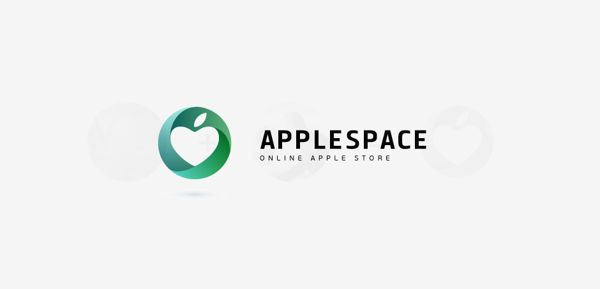APPLESPACE LOGO by Ramin Nasibov, via Behance