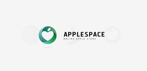 APPLESPACE LOGO by Ramin Nasibov, via Behance