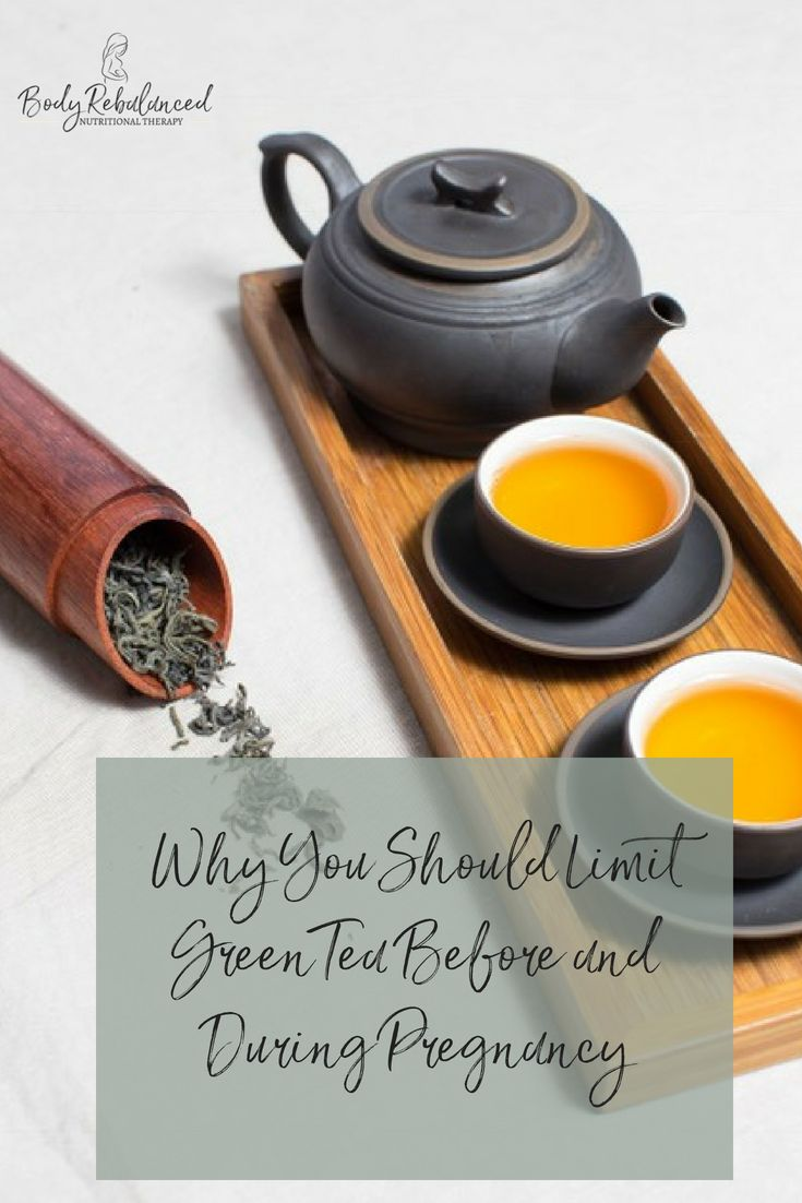 Green Tea Before and During Pregnancy: Folate Absorption – Body Rebalanced