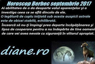 Reperele majore ale horoscopului Berbecului din octombrie 2017 sunt o pace sufletească, spirituală, ce îţi permite să îţi desluşeşti cu limp...