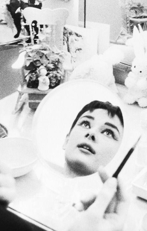 Audrey Hepburn in 1951