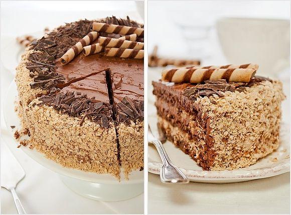 Tort ferrero rocher, najlepszy –  przepis