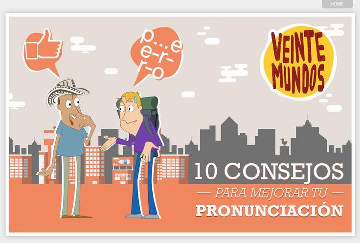 Buenos consejos para trabajar tu pronunciación.