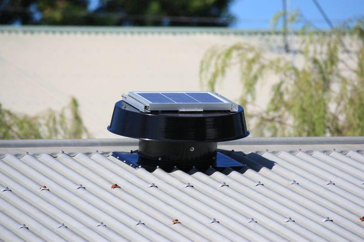 SolarWhiz installed on roof #solair