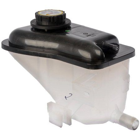 Dorman - OE Solutions Engine Coolant Recovery Tank P/N:603-200 Fits Ford Taurus 1999-96, Mercury Sable 1999-96, Black