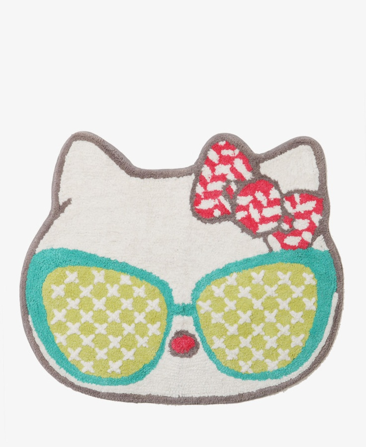 Hello Kitty Bath Rug Home Decor