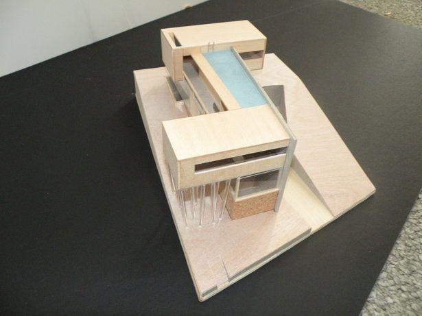 Model: Villa dall'ava | Justin Darrow | Archinect