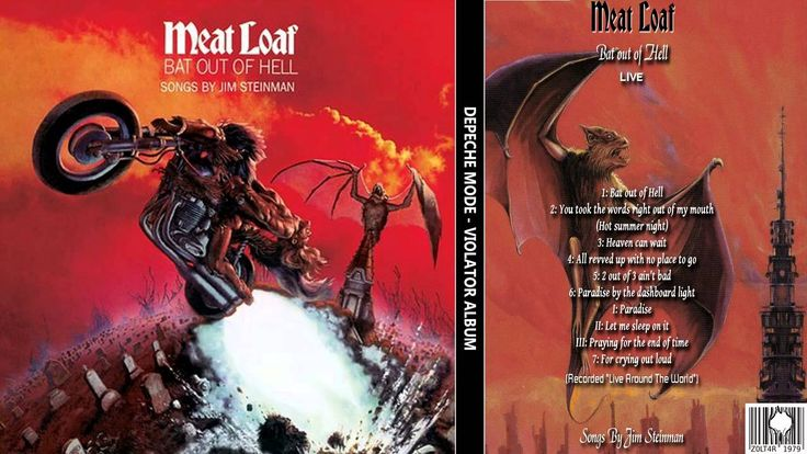 Meatloaf - Bat out of Hell Album