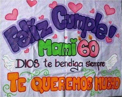 pancartas de feliz cumpleaños hechas a mano