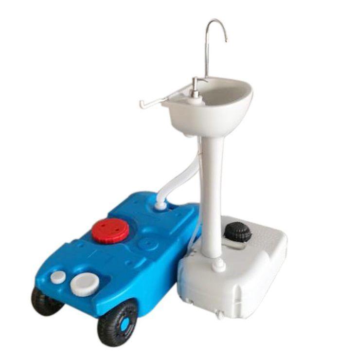 Ktaxon Portable Sink Abnehmbare Waschbecken Wasserhahn 40l