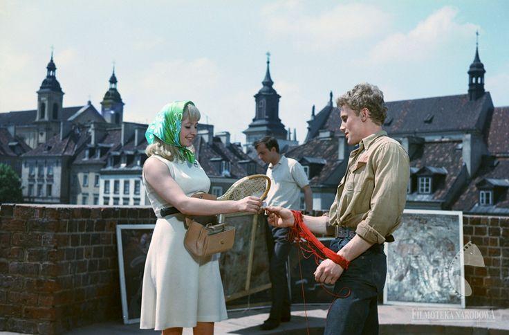 Barbakan 1966  #warszawa #warsaw #poland #StareMiasto #barbakan #starówka #stolica #panorama #olbrychski #obraz #kościół
