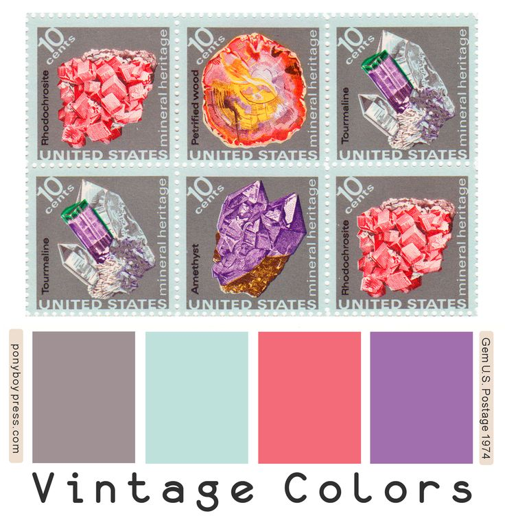 Vintage Color Palettes 103