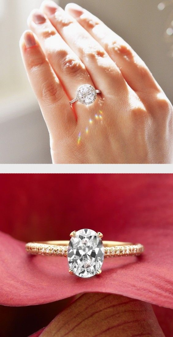 Catch the light with this diamond ring