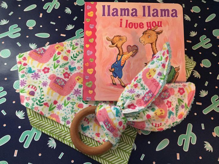 Pink Llama Gift Set