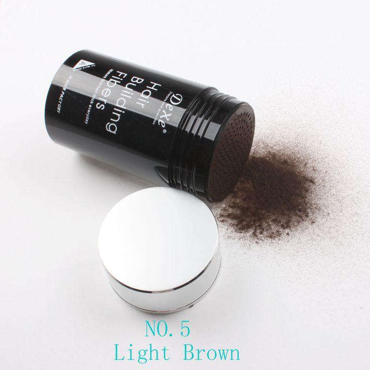 Dexe sợi tóc xây dựng phương pháp điều trị 22 gam nâu sáng màu #05