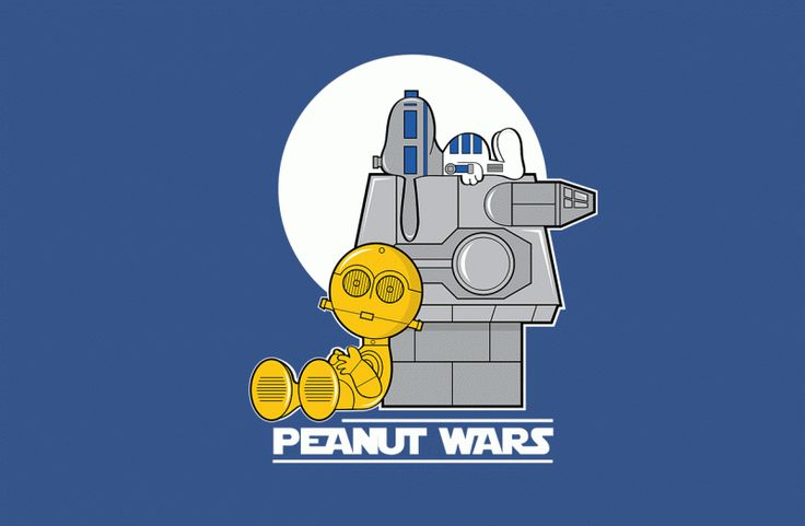 This is AWESOME! Design by jrberger #peanuts #snoopy #charliebrown #starwars #r2d2 #c3po