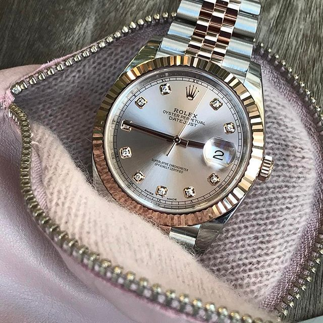 DATEJUST 41 sundust dial is dedicated to @fbwatches congrats for reaching 5... | http://ift.tt/2cBdL3X shares Rolex Watches collection #Get #men #rolex #watches #fashion