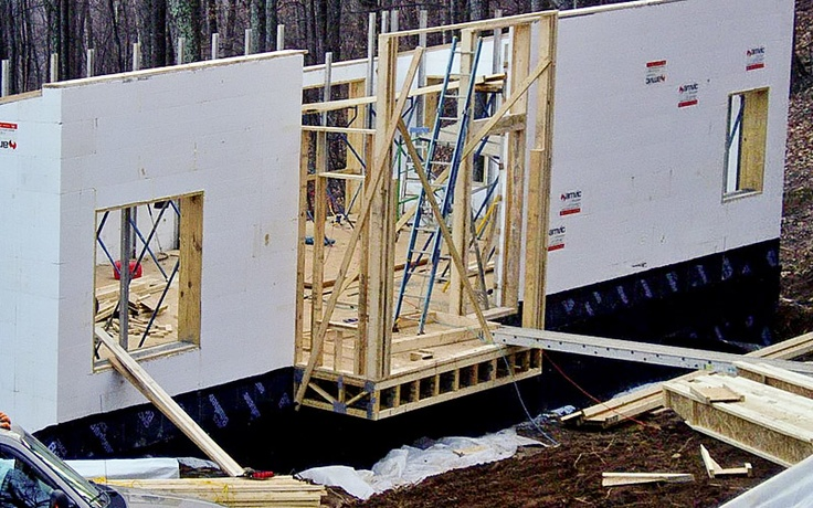 1000 images about icf homes on pinterest house plans for Icf residential construction