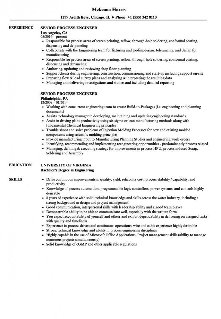11 Production Engineer Resume Pdf 11 Production Engineer