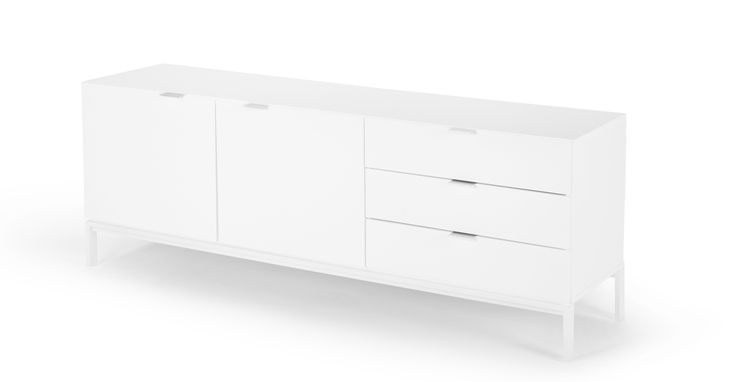 Marcell Sideboard, White | made.com