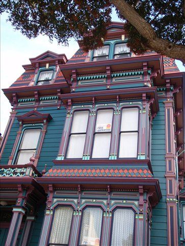 Funky Houses The Victorian Painted Las My Future Home Pinterest Woman Painting And Homes