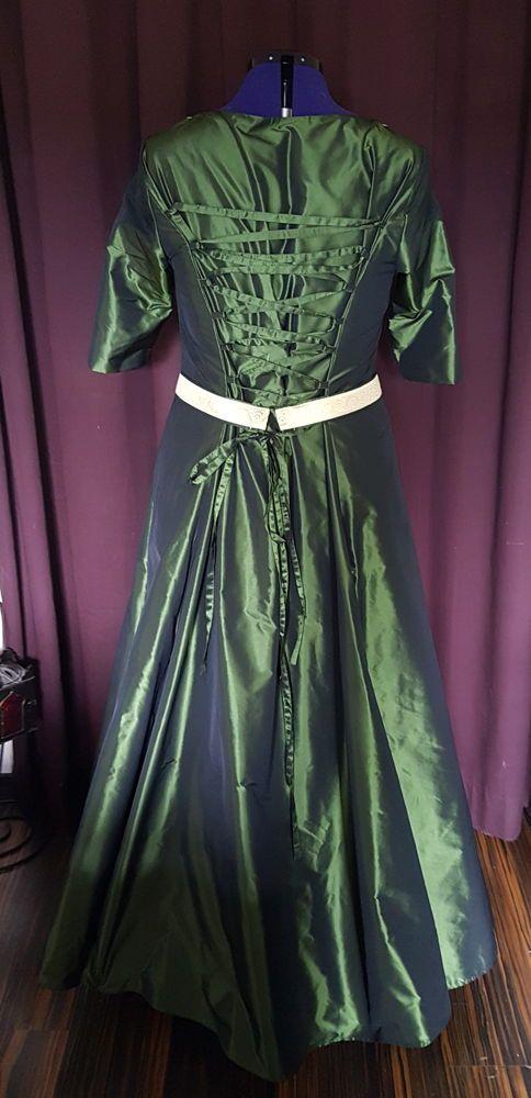 Grünes Brautkleid | Kleider, Brautkleid, Viktorianische